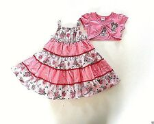 Baby Girl's Minnie Mouse Sun Dress & Short Sleeved Bolero Set -Age 18-23 mos NEW