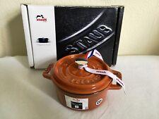 Staub Fonte 10 cm Mini Cocotte/cocotte, 0.25 L de Cannelle-NEUF!