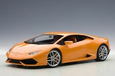 Lamoborghini Huracan LP610-4 Orange Metallic Composite AUTOart 74603 1/18 New