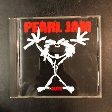 CD PEARL JAM Alive 4 song EP 1991 Sony JAPAN SRCS 5884