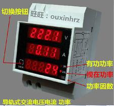 Digital LCD AC80-300V 100A Spannungsstrom-Amperemeter Leistungsmesser watt meteR