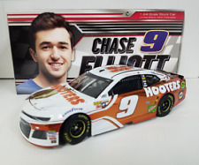 NEW NASCAR 2018 CHASE ELLIOTT #9 HOOTERS COLOR CHROME 1/24 DIECAST