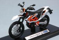 Coche Moto Welly KTM 690 Enduro R Escala 1:18 Motor Bike diecast