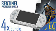 SENTINEL screen protector x4 bundle  for PSP 2000/3000 MATTE/CLEAR