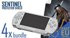Protezione Schermo Sentinel x4 Bundle per PSP 2000/3000 OPACO/TRASPARENTE