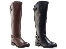 No Pattern Block Riding, Equestrian Casual Boots for Women