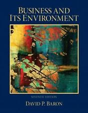 Business and Its Environment by David P. Baron (2012, Hardcover, Revised)