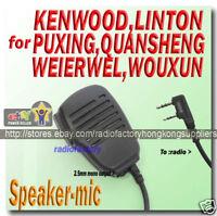 Speaker Mic for KG-UVD1P KG-UVD1 KG-659 KG-669 TG-UV2
