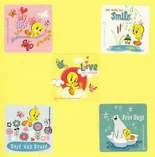 15 Tweety Bird - Large Stickers - Party Favors - Looney Tunes