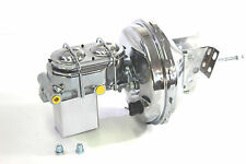 "GM BRAKE BOOSTER 9"" SINGLE DIAPHRAM CHROME & MASTER CYLINDER GM 64-72 CONVERSION"