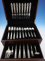 Royal Danish by International Sterling Silver Flatware Set 8 Service 44 Pieces