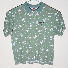 VTG Looney Tunes Taz Tasmanian Devil XXL 2XL Mens Polo Shirt USA Made 1997
