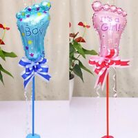 1 Set Baby Shower Balloons Gender Reveal Boy and Girl Baby Foot Party Decoration