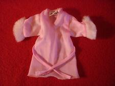 Genuine Barbie Fashion Pink Robe Doll Clothes