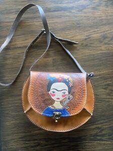 Frida kahlo Leather Bag