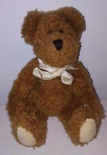 "Boyds Classic 8"" Brown Jointed Teddy Bear Plush Stuffed Animal Lovey First Buddy"
