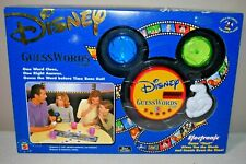 Disney Guesswords Electronic Game by Mattel Mickey Mouse Ages 6-Adult