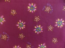 WtW Fabric Vintage New Flowers Allover Floral Daisy Kingdom Springs BTY Quilt