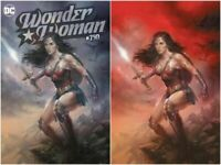 WONDER WOMAN 750 LUCIO PARRILLO VIRGIN VARIANT SET BRAND NEW HOT LTD 1500 NM
