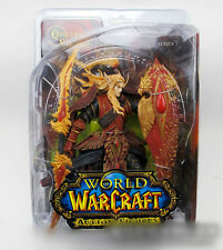 WOW World of Warcraft Blood Elf Paladin QUIN'THALAN Sunfire Figure Sealed in Box