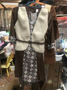 Nativity Shepherds Outfit Age 3-4