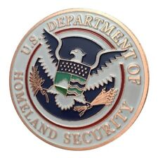 U.S. United States | Department of Homeland Security | Copper Plated Coin