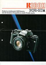 RICOH KR-10x - Prospekt - B1998