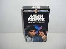 Mean Streets VHS Video Tape Movie Robert De Niro Harvey Keitel