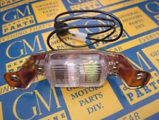 1966-1972 GM Rear Bumper License Lamp Assembly.  Light Tag. Free Shipping
