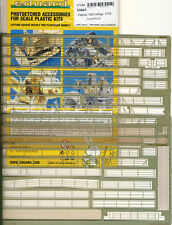 eduard Ätzteile - Fletcher 1942 Ship Marine Railings Reling 1:144 Modell-Bausatz
