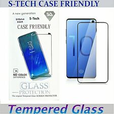 Case Friendly Clear Tempered Glass Screen Protector For Samsung Galaxy S10 Plus