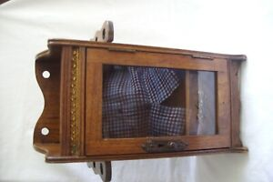 Antique Mahogany Smokers Cabinet.