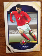 2014 Futera Unique Greats Football Soccer Card RYAN GIGGS Mint