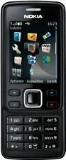 Nokia 6300 (Ohne Simlock) Handy 2MP Kamera MP3 Cell Phone Mobiltelefon Schwarz