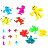 Stretchy Toys Assorted Smiley Man Frog Kids Birthday Party Loot Bag Fillers Gift