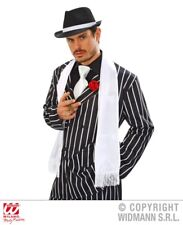 Accessori bianco in poliestere per carnevale e teatro sul gangster ... 55b914f4ae03