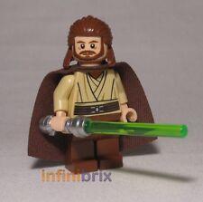 Lego Qui-Gon Jinn from Set 7961 Darth Mauls Sith Infiltrator Star Wars NEW sw322