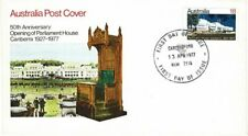 Australia 1977 Opening Parliament House Canberra First Day Cover Carlingford Cds