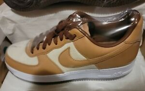 Nike Air Force 1 QS Shoes Acorn Natural Underbrush DJ6395-100 Mens NEW SIZE 10✅