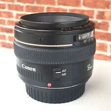 New listing Canon Ef 50mm f1.4 Lens