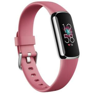Fitbit Luxe Fitness & Wellness Tracker (S & L Bands Included) | Authentic |