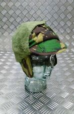 Genuine British ARMY Issued DPM WOODLAND Camo Cold Weather Hat Quilt Size Medium