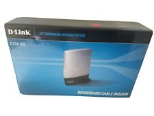 D-Link DCM-202 Broadband Cable Modem Internet Windows new open Box never used
