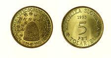 s1160_106)  SLOVENIA  5 TOLARJEV 1993 BEES