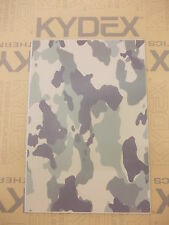 KYDEX T SHEET 297 X 210 X 3MM A4 SIZE  JUNGLE CAMOFLAGE INFUSED PANEL