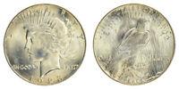1923-S Peace Silver Dollar Brilliant Uncirculated - BU