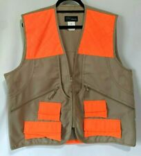 WFS Deluxe Upland Game Vest Tan Orange