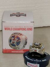 Houston Astros MLB World Series Champions 2017 Replica Ring Collectors New