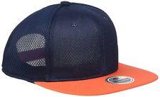 New Adidas Mens Originals Messi Flat Cap Orange Blue Size SnapBack Hat