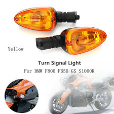 Front Rear Indicator Turn Signal Light Blinker Amber For BMW F800 F650 GS S1000R